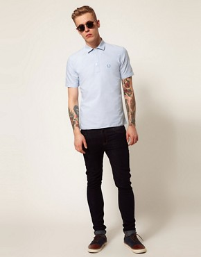 Image 4 ofFred Perry Laurel Wreath Overhead Oxford Shirt