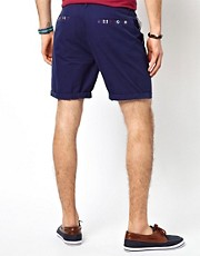 ASOS Chino Shorts With Contrast Pocket