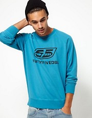 55DSL Sweatshirt Logo Crew Neck