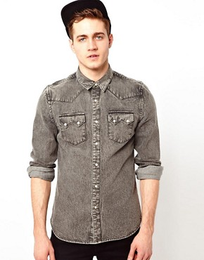 Image 1 ofASOS Denim Shirt