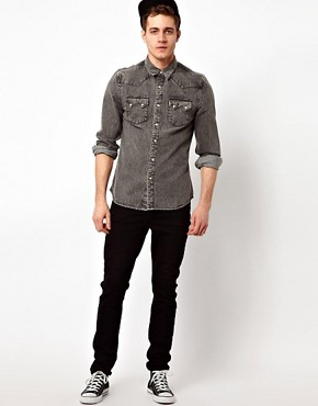 Image 4 ofASOS Denim Shirt