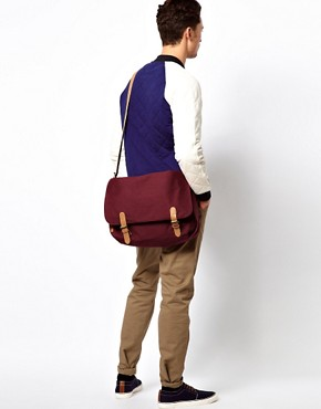 Image 3 ofASOS Canvas Satchel