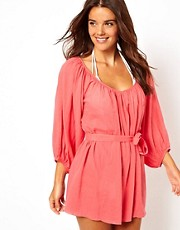 ASOS Loose Cotton Beach Kaftan
