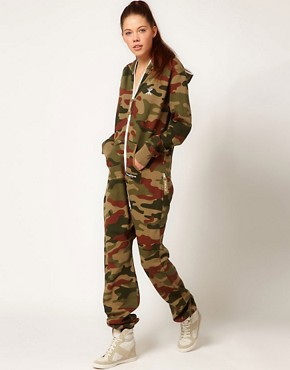 Image 1 ofOnepiece Camo Print Onesie