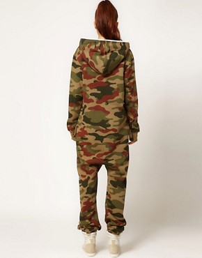 Image 2 ofOnepiece Camo Print Onesie
