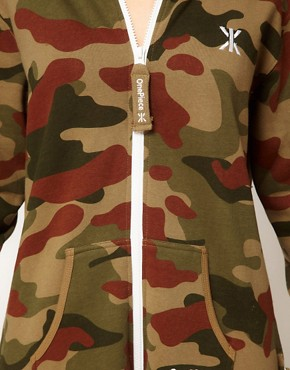 Image 3 ofOnepiece Camo Print Onesie