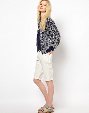 Image 1 ofYMC Cut Off Denim Burmuda Shorts
