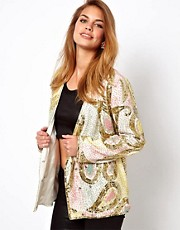 Virgos Lounge Aggy Embellished Blazer