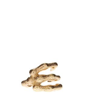 Image 2 of ASOS Wrapped Claw Ring