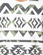 Image 3 of River Island Camoflage Aztec Tank
