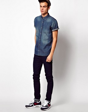 Image 4 ofRiver Island Denim Shirt
