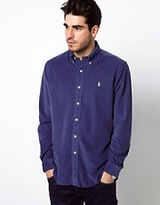 Polo Ralph Lauren Shirt In Custom Fit Cord