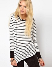 Lna Sandy Stripe Top