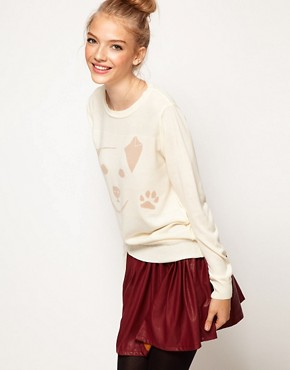 Image 1 ofA Wear Puppy Paws Jumper