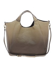 Pieces  Malena  Shopper-Tasche mit Schattenmuster