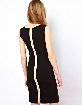Image 2 ofMarkus Lupfer Elastic Bodycon Dress