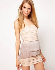 Camilla &amp; Marc Strapless Dress With Pleats &amp; Drape