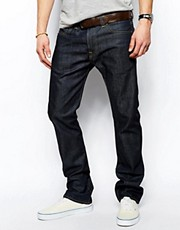 Edwin ED-71 Slim Quartz Blue Raw Jeans
