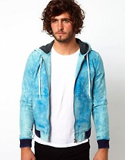 ASOS Bomber Jacket With Hood