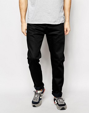 Edwin Jeans ED80 Selvedge Slim Tapered Fit Black