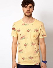 The Critical Slide Society T-Shirt Floral Print
