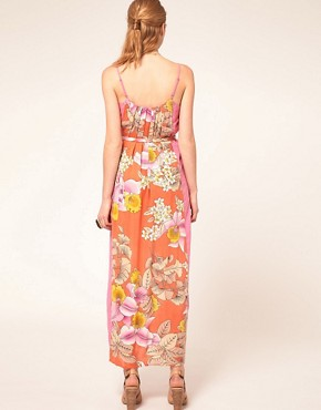 Image 2 ofWarehouse Eastern Tropic Dress