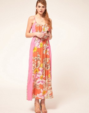 Image 4 ofWarehouse Eastern Tropic Dress