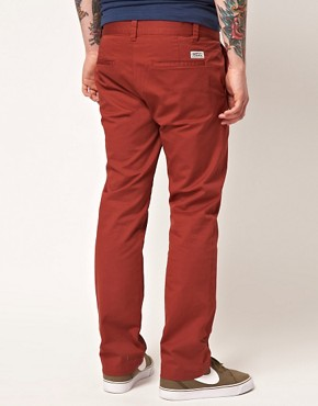 Image 2 ofWESC Eddy Slim Fit Chinos Exclusive To Asos