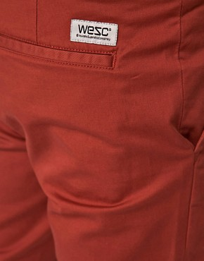 Image 3 ofWESC Eddy Slim Fit Chinos Exclusive To Asos