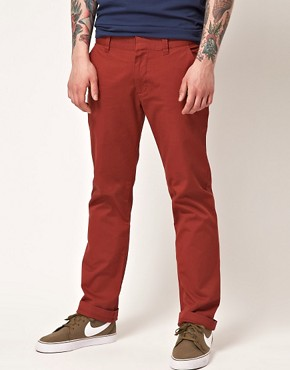 Image 1 ofWESC Eddy Slim Fit Chinos Exclusive To Asos