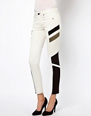 Rag &amp; Bone Halifox Motocross Panelled Jegging