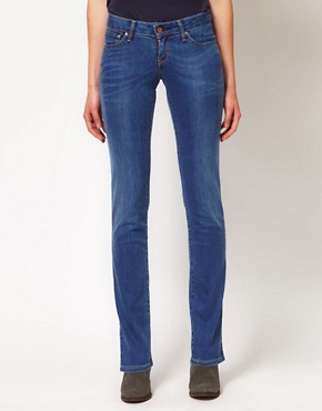 Image 1 ofLevi&#39;s Curve ID Bold Curve Straight Jeans