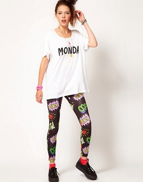 Image 4 ofLazy Oaf Monday Slob T Shirt