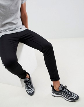 River Island Skinny Jeans In Black
