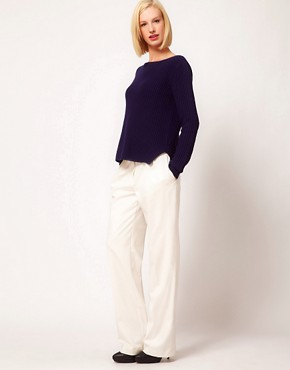 Image 1 ofASOS Super Soft Trousers In Wide Leg