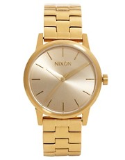 Nixon Small Kensington Gold Watch