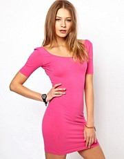 American Apparel U Neck Bodycon Dress