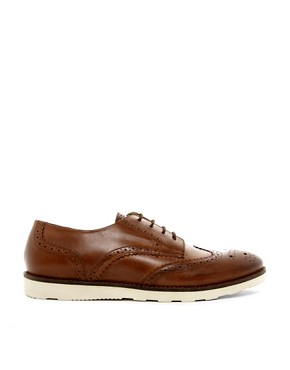 Image 4 ofASOS Brogues With Wedge Sole