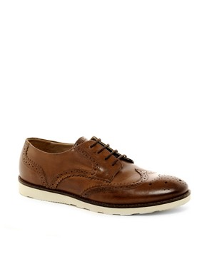 Image 1 ofASOS Brogues With Wedge Sole