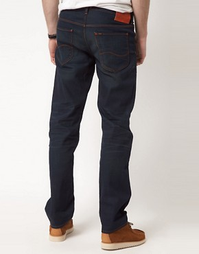 Image 2 ofLee Daren Jean Straight Fit Blue Wash