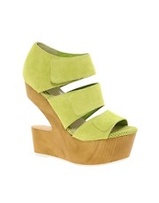 DV8 Javelin Cut Out Suede Wedges