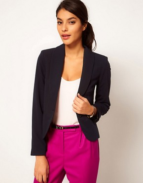Image 1 ofASOS Cropped Tailored Blazer