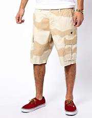 Stussy &ndash; Cargoshorts mit Tarnmuster