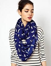ASOS Dog Print Snood