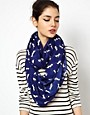 Image 1 ofASOS Dog Print Snood