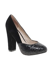 Ravel Black Heeled Shoe