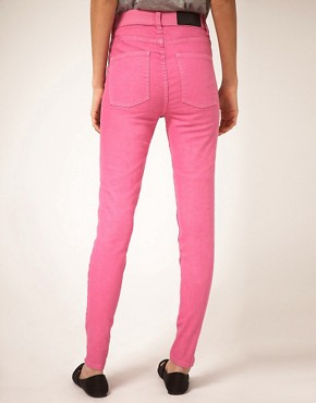 Image 2 ofCheap Monday Second Skin Skinny Jeans With High Waist