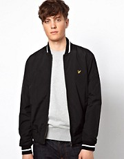 Lyle &amp; Scott Vintage Bomber Jacket with Eagle Logo