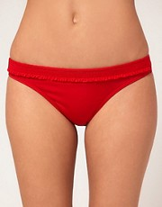 Esprit Hipster Bikini Briefs With Ruffles