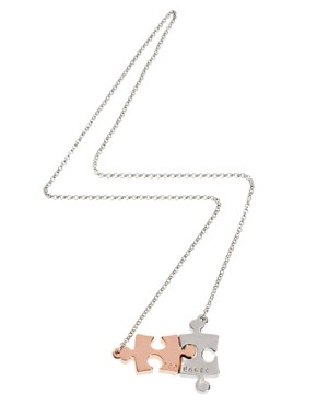 Image 2 ofTed Baker Jigsaw Pendant Necklace